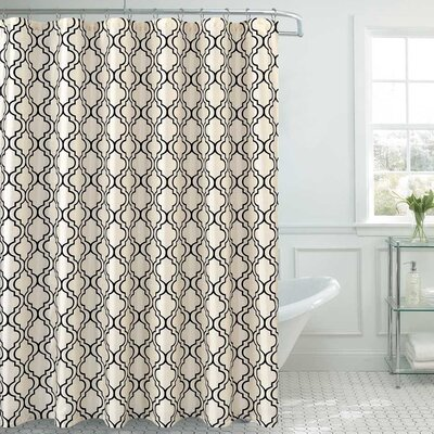 Royal  Shower Curtain Color: White