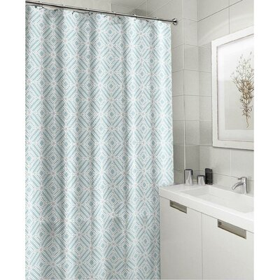 Royal Fabric Shower Curtain Color: Turquoise