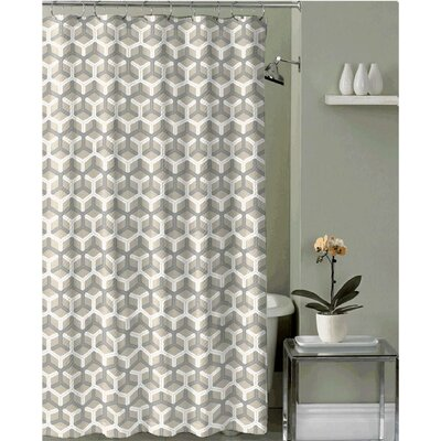 Royal  Fabric Shower Curtain Color: Gold