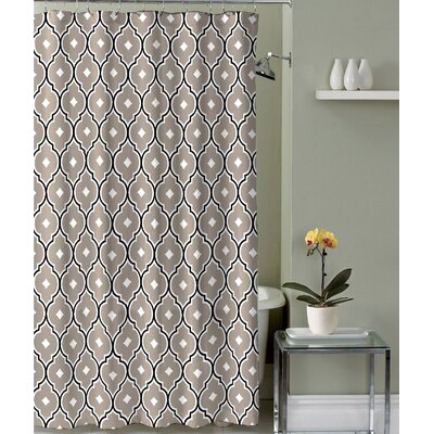 Royal Fabric Shower Curtain Color: Taupe