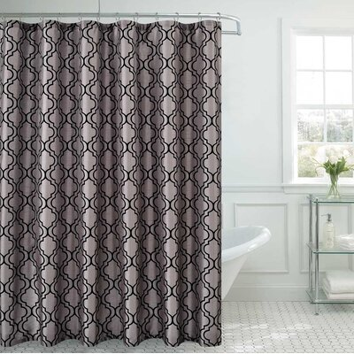 Royal  Shower Curtain Color: Silver