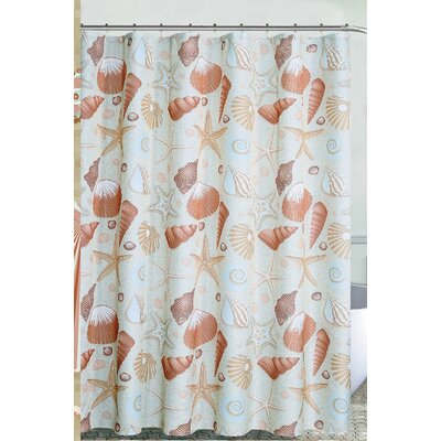 Boulder Brook at the Shore Shower Curtain