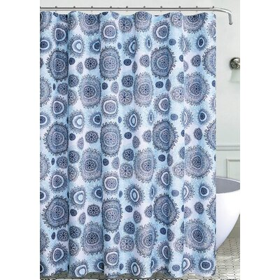 Susy Mandala Burst Shower Curtain