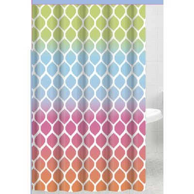 Susy Watercolor Shower Curtain
