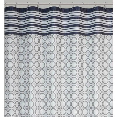 Salome Geometric Expression Shower Curtain