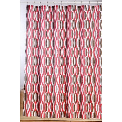 Susy Double Helix Illusion Shower Curtain