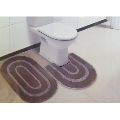 Oakley 2 Piece Bath Rug Set