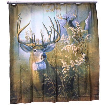 Chase Majestic Deer Shower Curtain