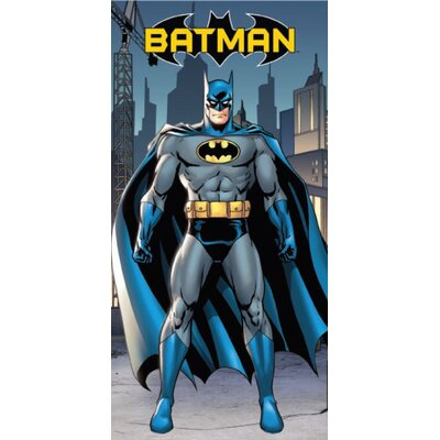 Royal Plush Batman in the City Beach Towel