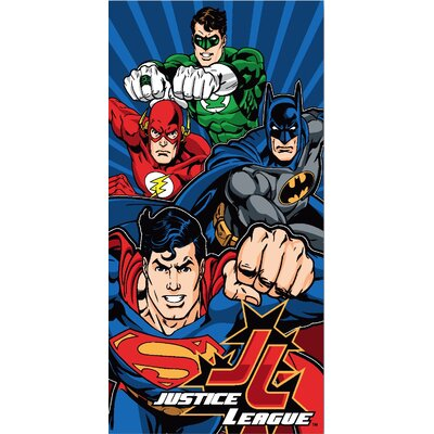 Royal Plush Justice League Beach Towel