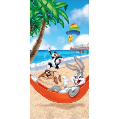 Royal Plush Looney Toons Beach Towel