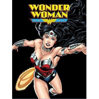 Royal Plush Wonder Woman Beach Towel