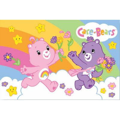 Royal Plush Care Bears Area Rug