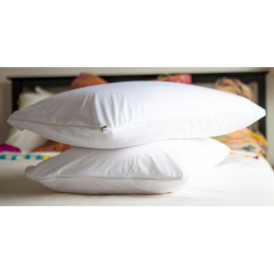 Vinyl Waterproof Pillow Protector with Zipper