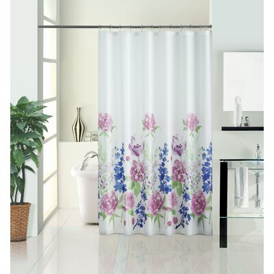 Kathlene Summer Meadow Vinyl Shower Curtain