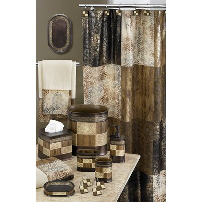 Carney Wild Safari Kenya Fabric Shower Curtain