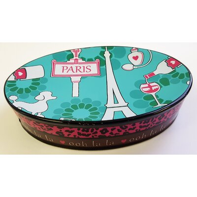 Charest Ooh La La Paris Glamour Heavy Resin Soap Dish