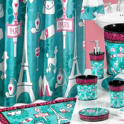 Charest Ooh La La Paris Glamour Heavy Resin Toothbrush Holder