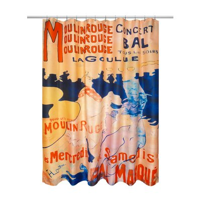 Denzel Cabaret Museum Shower Curtain