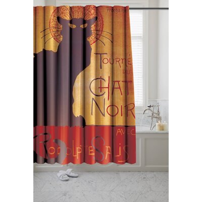 Chancery Chat Noir Museum Shower Curtain