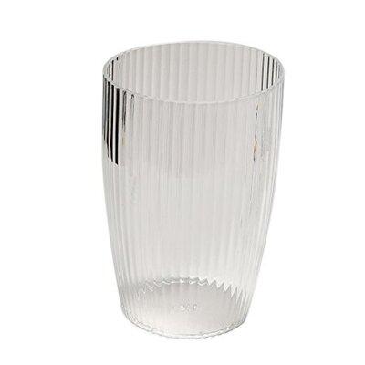 Rib-Textured Waste Basket Finish: Clear REBR2082 39254012