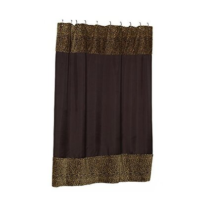 Cooke Sheena Faux Fur-Trimmed Shower Curtain