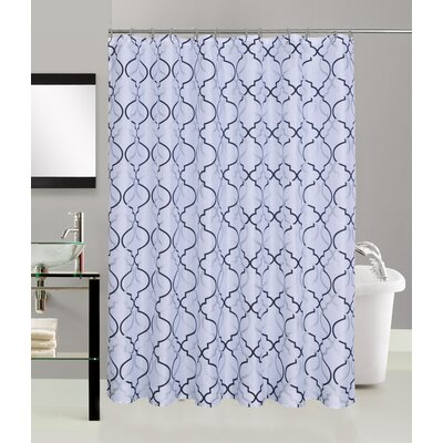 Burcham Fabric Shower Curtain