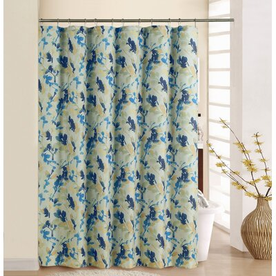 Leonidas Fabric Shower Curtain