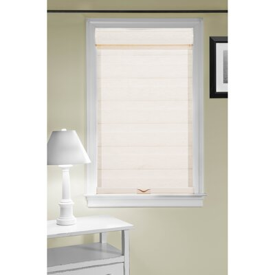 Cordless Double Layered Pleated Shade Blind Size: 48 W x 72 L