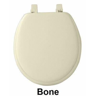 Fantasia 17 Soft Standard Vinyl Round Toilet Seat Finish: Bone