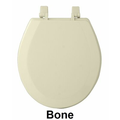 Fantasia 17 Standard Wood Round Toilet Seat Finish: Bone