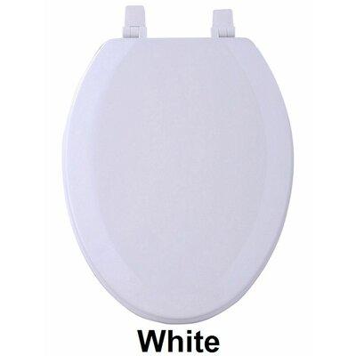 Fantasia 19 Wood Elongated Toilet Seat Finish: White