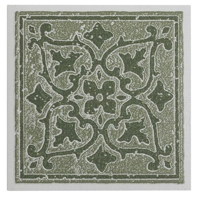 Nexus Self Adhesive 4 x 4 x 1.5mm Vinyl Tile in Green