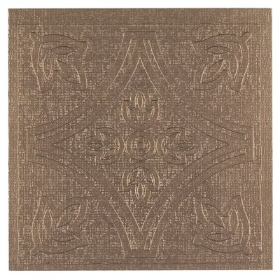 Metallo Self Adhesive 4 x 4 x 1.5mm Vinyl Tile in Copper