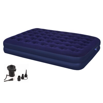 Second Avenue Double 14 Air Mattress with Electric Air Pump