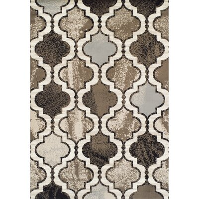 Woburn Arbor Synthetic Black Area Rug