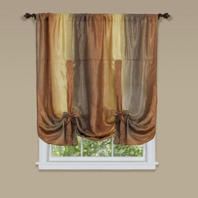 Aldreda Window Tie Up Shade Color: Autumn