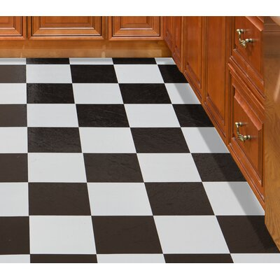 Tivoli Self Adhesive 12 x 12 x 1.2mm Vinyl Tile in Black/White