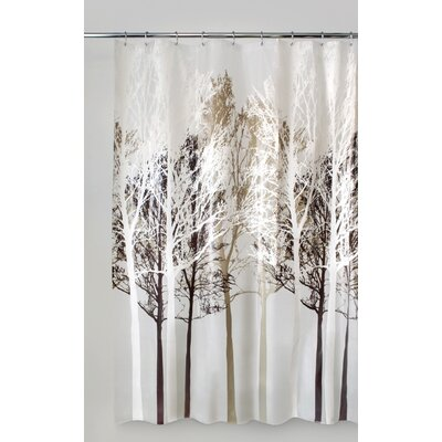 Circletree Forest Shower Curtain Color: Beige