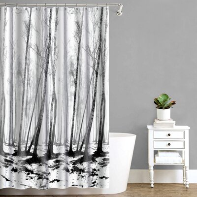 Circletree Spooky Forest Shower Curtain