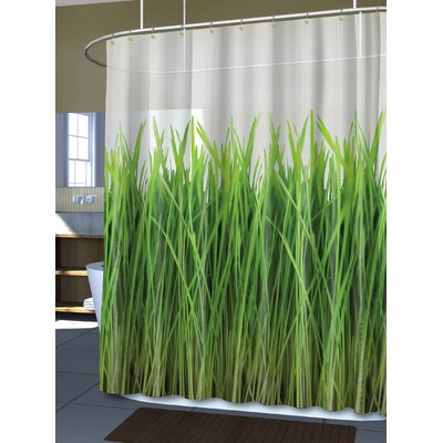 Royal Bath the Grass Is Always Greener Shower Curtain