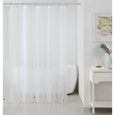 Merlyn Royal Bath Extra Heavy Polyester Shower Curtain Color: Clear