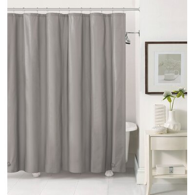 Merlyn Royal Bath Extra Heavy Polyester Shower Curtain Color: Gray