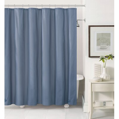 Merlyn Royal Bath Extra Heavy Polyester Shower Curtain Color: Slate