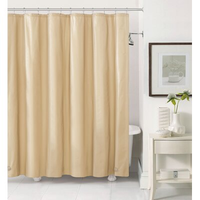 Merlyn Royal Bath Extra Heavy Polyester Shower Curtain Color: Beige