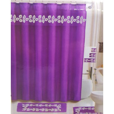 Royal Bath Enredadera Morada Shower Curtain Set