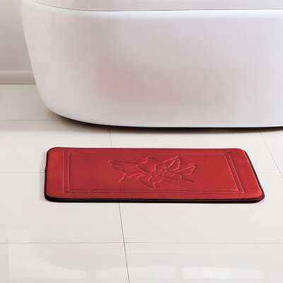 Santas Robe Memory Foam Rectangle Bath Rug