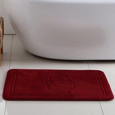 Santas Robe Memory Foam Bath Rug