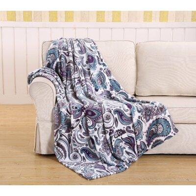 Emjay Traditional Elegance Paisley Blanket