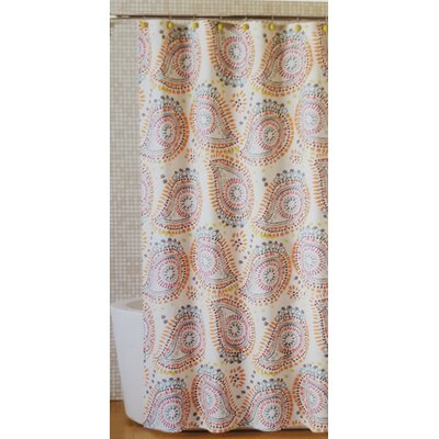 Nevada Lagrimas De Mandala Shower Curtain